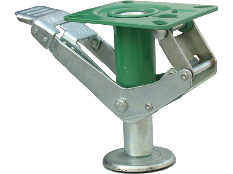 floor locks floor locks industrial castors wheels castors brauer. Black Bedroom Furniture Sets. Home Design Ideas